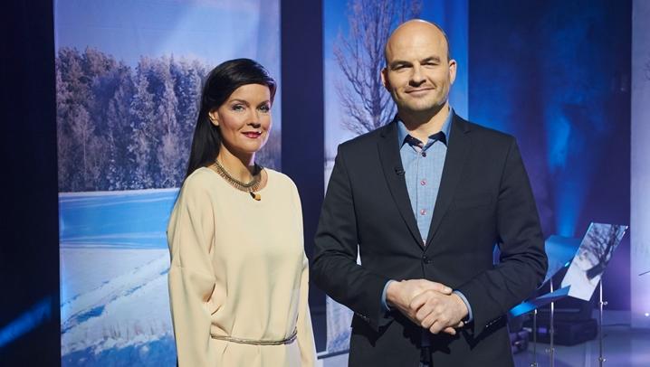 Katrin Viirpalu ja Rasmus Kagge (Foto:ERR)