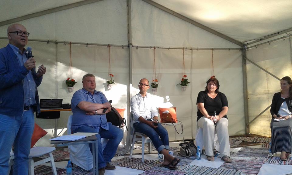 Lapsed ja meedia arutelu Arvamusfestivalil